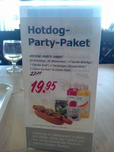 Ikea Hot Dog Paket (Lokaler Deal, wohl deutschlandweit) f. 32 Hot Dogs