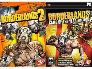 Borderlands 2 + Borderlands: GOTY [Steam] für 6.27€ @Newegg