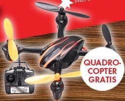 8x Ausgaben Stern + Hubsan X4 Clone / Klon ( Quadrocopter / Quadcopter ) für 19,90€ - 8€ (Questler.de) Cashback = 11,90€ [@leser-werden.de]