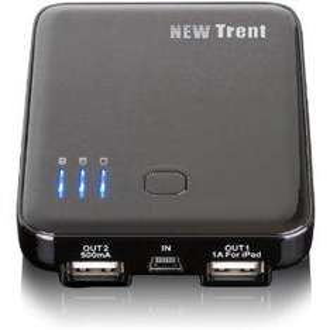 New Trent Dual-port Universal Battery Pack 5000mAh für nur 19,50 Euro