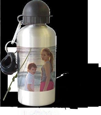 Gratis Foto-Trinkflasche im Wert von 14,99 Euro