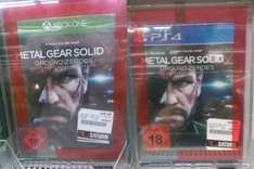 [Lokal] Metal Gear Solid V Ground Zereos im Saturn Heidelberg für 14,99€