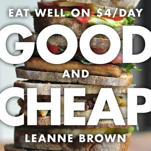 [Eng] Good and Cheap - Kochbuch- Gesunde Gerichte unter 4$