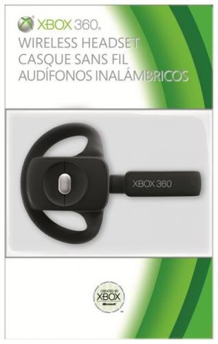 Microsoft Xbox 360 Wireless Headset Schwarz  ~19,50€