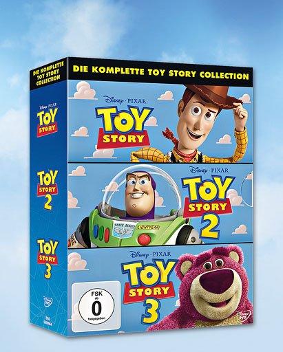 DVD-Box »Toy Story 1 - 3« @ Kaufland bundesweit