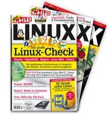 3 Ausgaben Chip Linux inkl. 10€ Amazon Gutschein für 16,90€ ( Probeabo! )