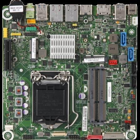 "Intel® Mainboard Sockel 1155, Mini-ITX, Q77, bulk ""DQ77KB"" 49,99€ @ ZackZack"