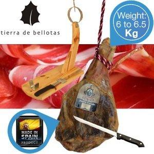 Jamón Serrano El Porquero – Spanischer Hinterschinken 6 - 6,5 Kilo (58,90 EUR inkl. Versand)