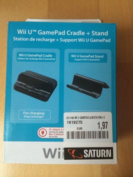 [Lokal Saturn Baunatal] Nintendo Wii U Ladestation & Ständer