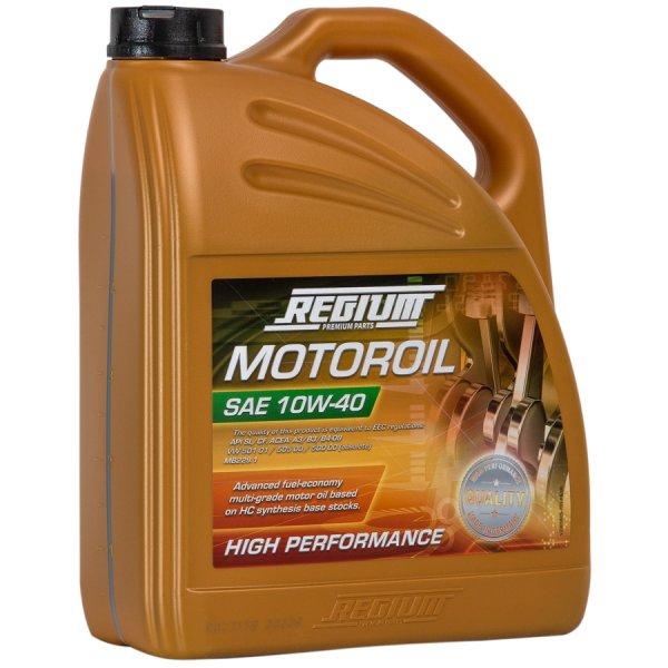 Regium Motorenöl 10W-40   25 Liter  € 54,95   versandkostenfrei   --> 2,20 €/Liter