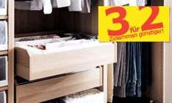 IKEA Kauf 3 zahl 2 - Pax Kleiderschrank bei Ikea Frankfurt