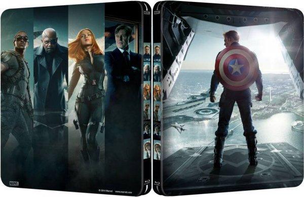 Captain America 2: The Return of the First Avanger Steelbook