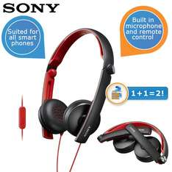 2 x Sony MDR-S70AP sehr portable Kopfhörer mit Mikrofon für zusammen 40€ @iBOOD