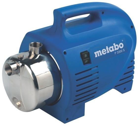 Metabo P 3300 S Gartenpumpe für 74,90€ inkl. Versand @ C-Tools24 (31% unter Idealo)