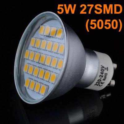 20x GU10 LED Birnen 27SMD 5W für 28,99 @ ebay