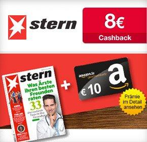 [Qipu] 6 (+1) Ausgaben stern für 14,70€ + 10€ Amazon Gutschein + 8€ Cashback - effektiv 3,30€ Gewinn