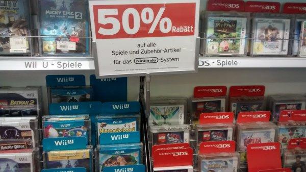 [Lokal Leipzig] 50% auf Nintendo Hard- und Software