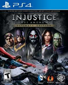 Injustice: Gods Among Us Ultimate Edition - PS4 [Digital Code] oder LEGO Marvel Super Heroes für PS3 für 6,25€ @Amazon.com
