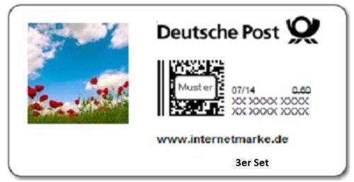 [Ebay] 3 x 0,60 Cent Briefmarken für 1,30€ (17 Cent Ersparnis pro Briefmarke)