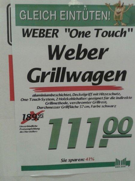 (Lokal Marktkauf Frechen Nähe Köln) Weber One-Touch Original 57 cm 111,00 €