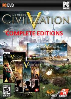 Civilization V: Complete Edition [Steam] 10,04-