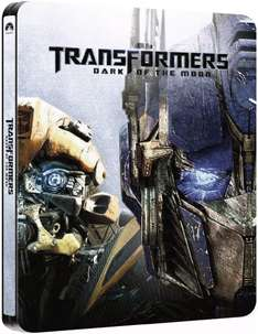 Transformers: Dark of the Moon (Blu-ray) Steelbook für 7€ @Zavvi.com