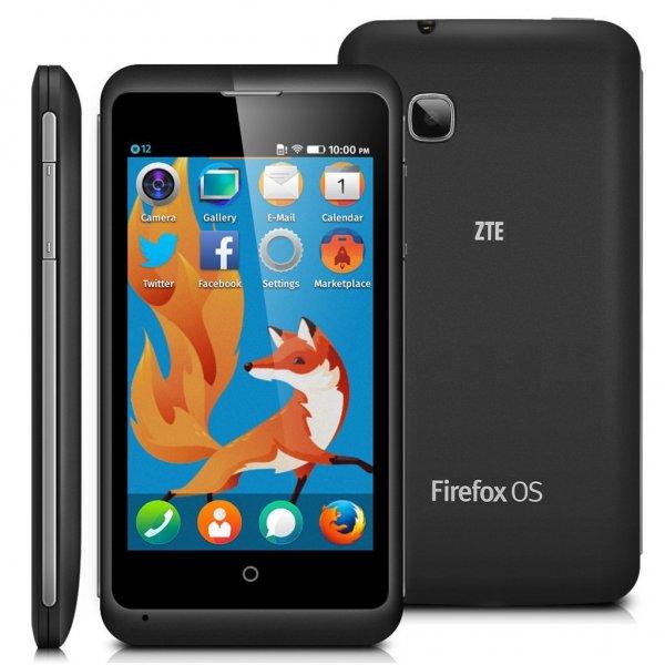 ZTE Open C Firefox OS Smartphone für 50€
