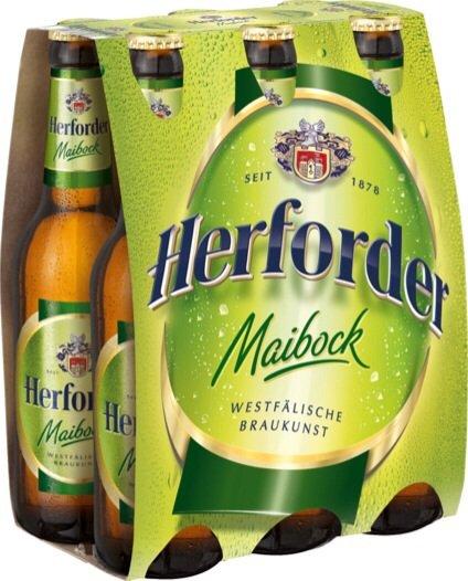 Herforder Maibock lokal in Hannover 6x0,33l für 99 Cent (plus Pfand)