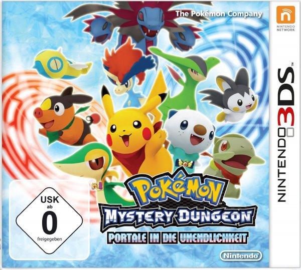 Nintendo 3DS  Pokemon Mystery Dungeon: Portale in die Unendlichkeit-oder 3DS Lego Marvel Super Heroes für 11,69 Euro