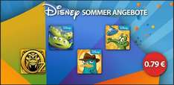 [Amazon App-Shop] Disney Sommer Angebote: z.B. Wo ist mein ... je 0,79€