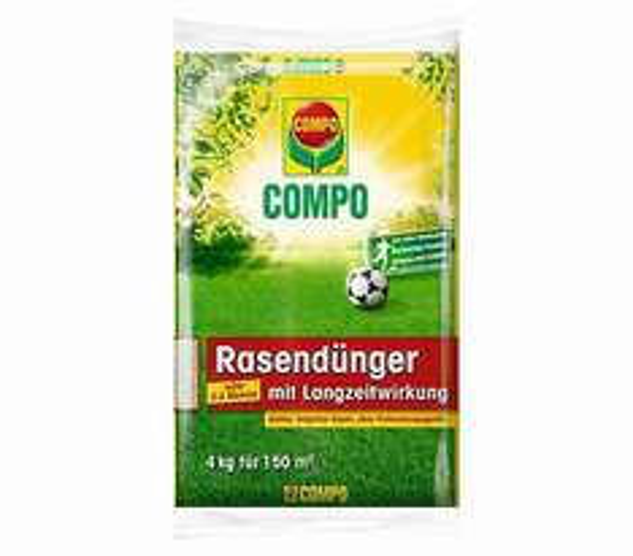 Compo Rasendünger mit Langzeitwirkung, 20kg Sack für 27,99€ OHNE Versand