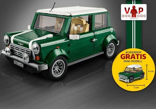 Lego 10242 Mini Cooper VIP Vorverkauf - 90€ Zahlen, Zugaben im Wert von etwa 30€ bekommen