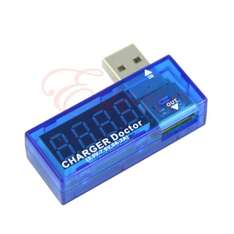 Charger Doctor, USB Ladestrom Anzeige 0-3 A, $1,80 oder 1,35€