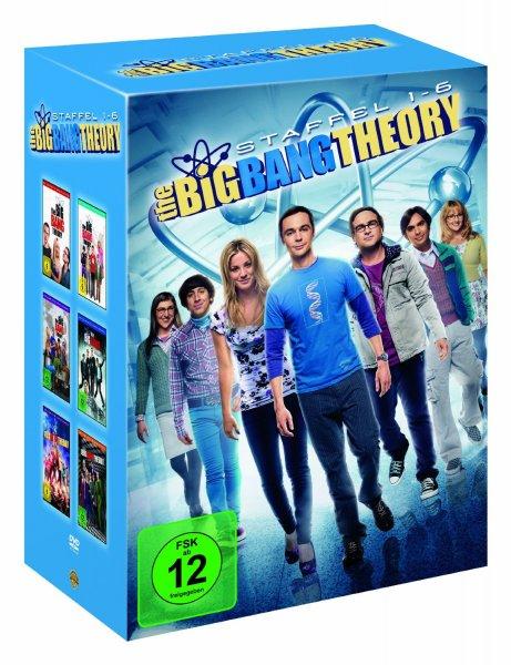 The Big Bang Theory - Staffel 1-6 (19 DVDs) für 44,97 € @Amazon.de
