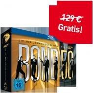 Jahresabo video inkl. James Bond - Bond 50: Die Jubiläums-Collection (ohne Skyfall) Bluray