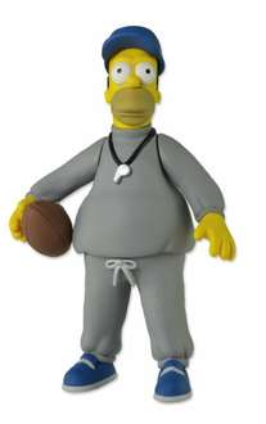 The Simpsons Coach Homer Neca 13cm Figur 11,73€ @Amazon.com