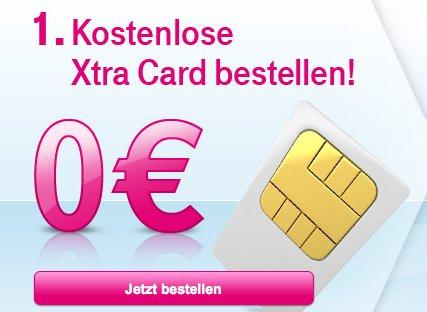 Kostenlose Xtra Card mit 10€ Guthaben (3x Pro Person)
