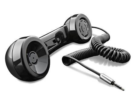 R.O.GNT 0201 tragbarer Telefonhörer/Lautsprecher/ für MP3, Smartphone,iPhone,Tablet für 9,99€ @ Meinpaket