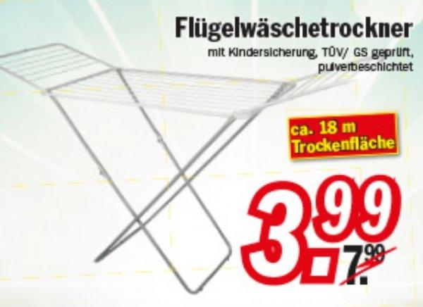 Wäscheständer 18m mit Kindersicherung und TÜV geprüft @Zimmermann Sonderposten