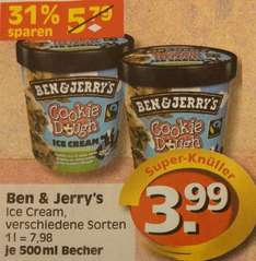 [Lokal - Berlin Edeka] Ben & Jerry's Ice Cream 500ml 3,99€