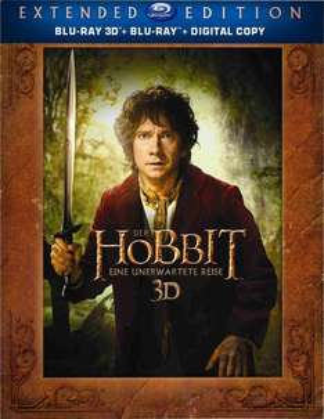 [amazon.de] Der Hobbit: Eine unerwartete Reise - Extended Edition 3D/2D (5 Discs) für 19,77 € (neuer Tiefstpreis) u. Der Hobbit: Smaugs Einöde 3D (+Blu-ray) für 17,99€