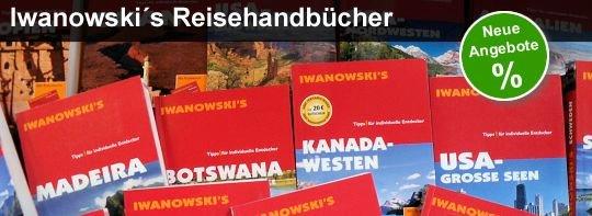 [Restposten] Reiseführer von Iwanowski 50-77% billiger (Mängelexemplare)