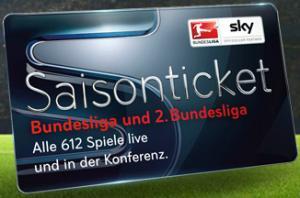 Sky Saisonticket (Bundesliga und 2. Bundesliga) + Sky Welt + 1 Jahr kostenlos HD+ Sender (nur bei Sat-Empfang) + Sky Go 30 Tage kostenlos + HD-Receiver mietfrei & ohne Servicepauschale