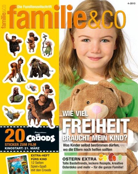 Wieder verfügbar: 12 Ausgaben familie&co kostenfrei und ohne weitere Verpflichtungen - durch Anmeldung bei Agenturkinder