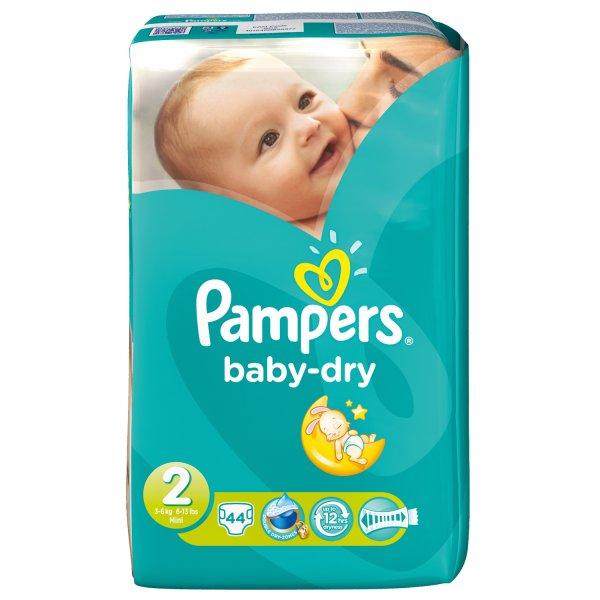 [Baby-Markt.de] Pampers Baby Dry Mini Gr. 2 44 Stk - 5,99€s