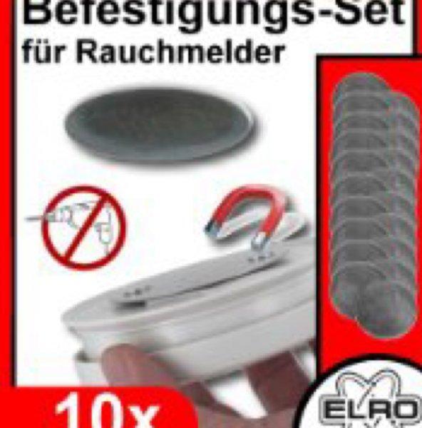 Elro RMAG 2 Magnethalterung für Rauchmelder