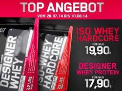 ESN Designer Whey 17,90,-€  &  IsoWhey Hardcore 19,90 € + 3,90,-€ Versand (Summe: 21,80 €/ 23,80 €)