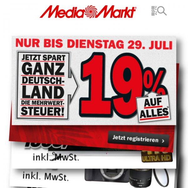 [IOS]MediaMarkt Abholung im Markt trotz MwST. Aktion