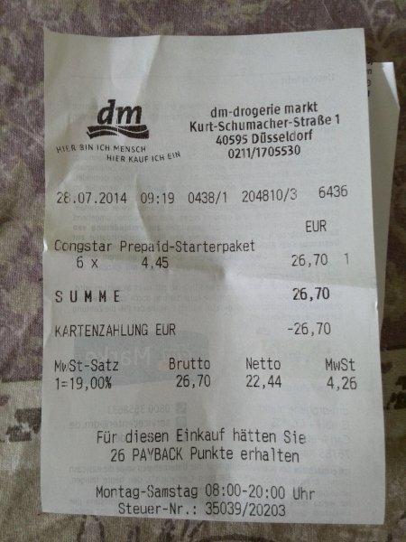 PSN Guthaben mit 70% Ersparnis durch Congstar und DM