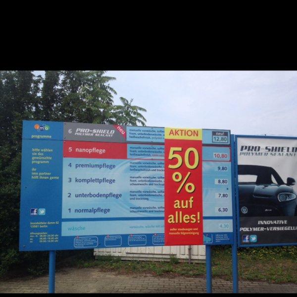[lokal Spandau] 50% auf jede Autowäsche